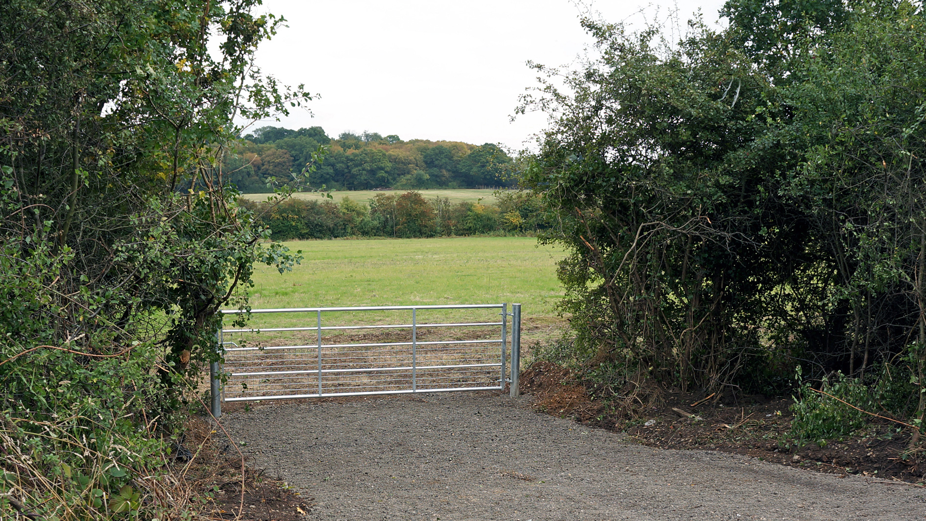 Land for sale in Abridge, Romford access