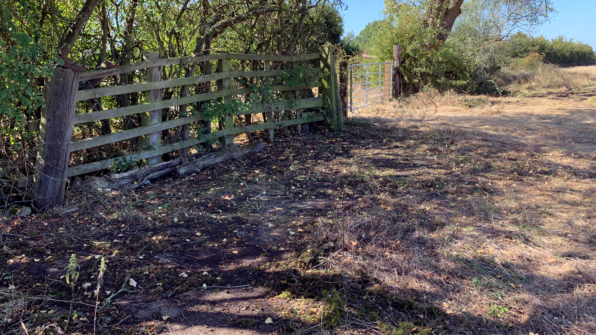 Land for sale at Draytonmead Farm hardstanding