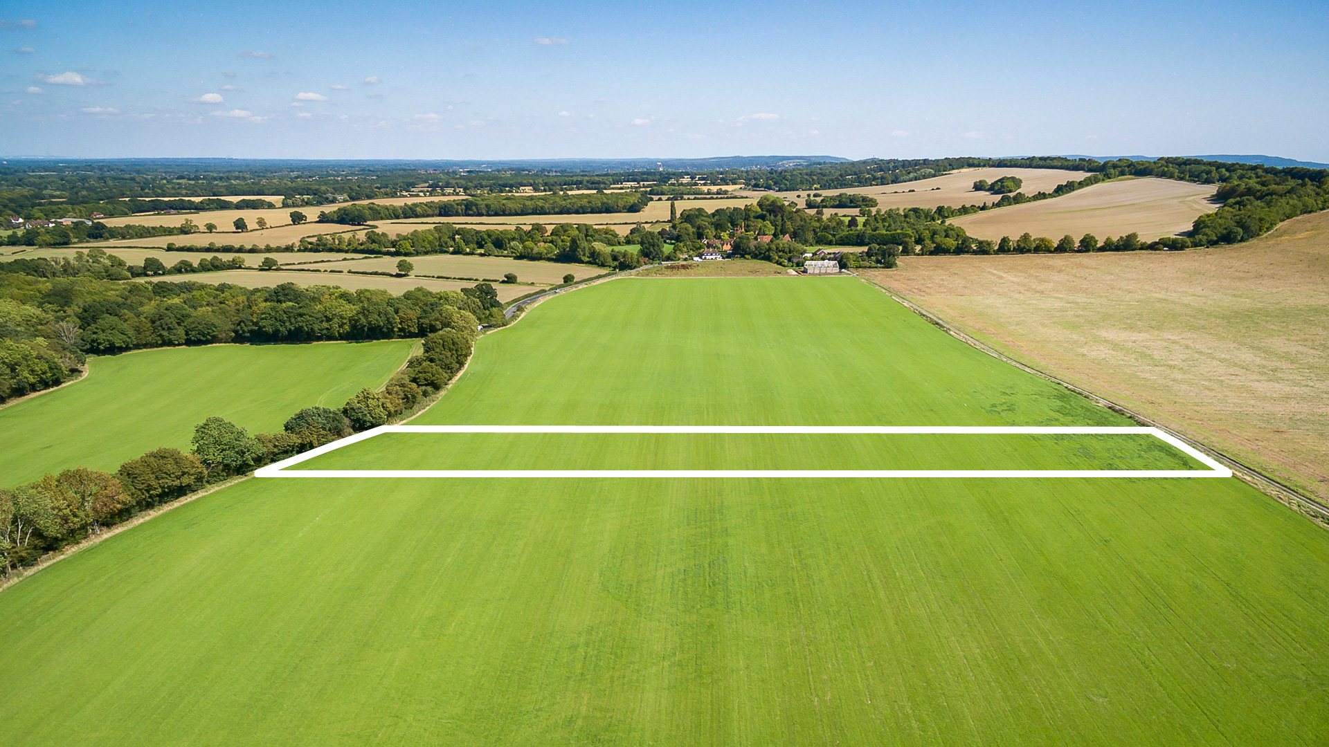 Land for sale in Guildford aerial view