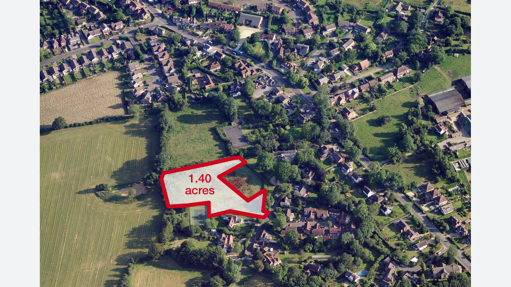 Land for sale in Lacey Green