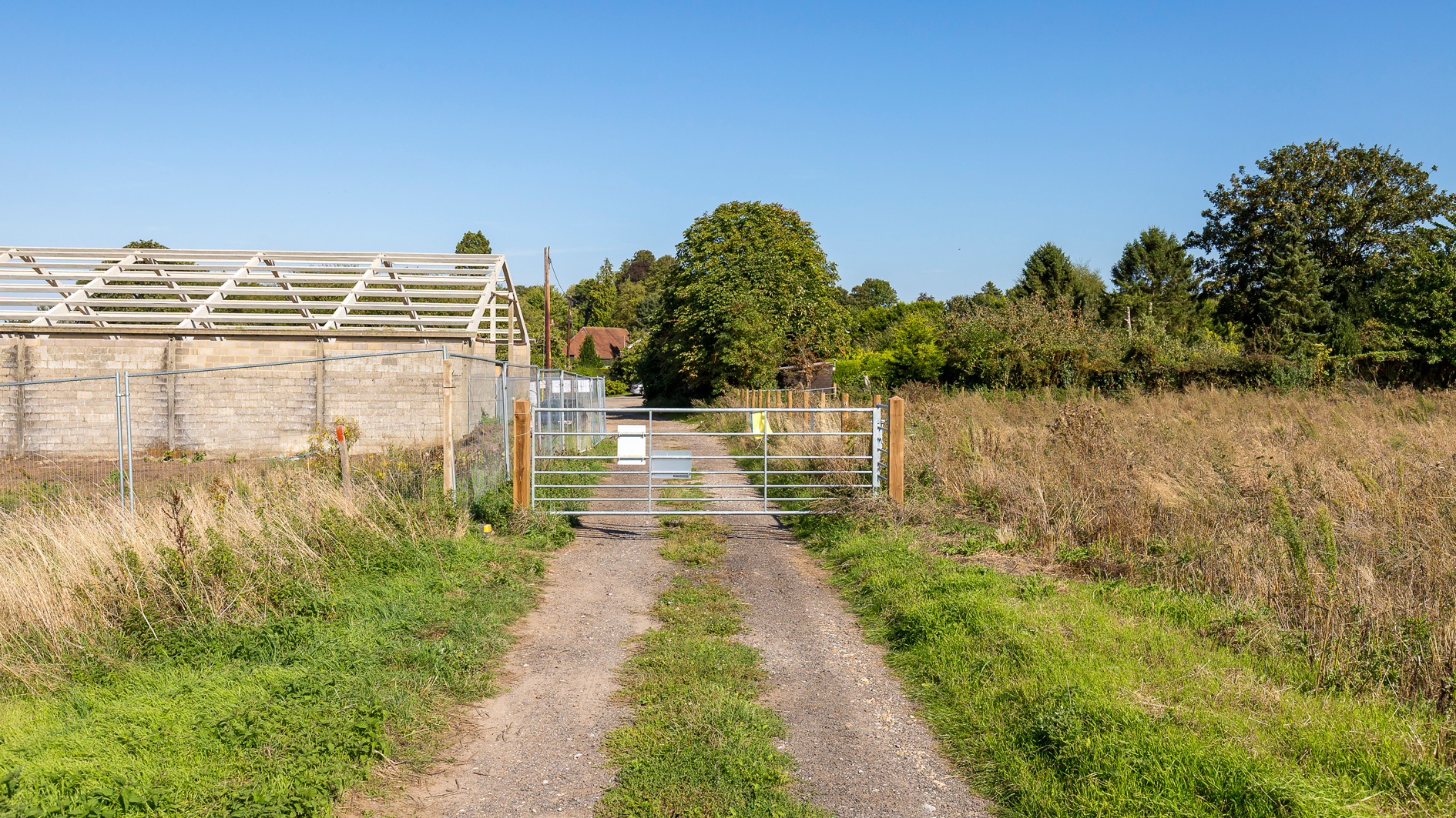 Land for sale at Manor Farm Cottages access