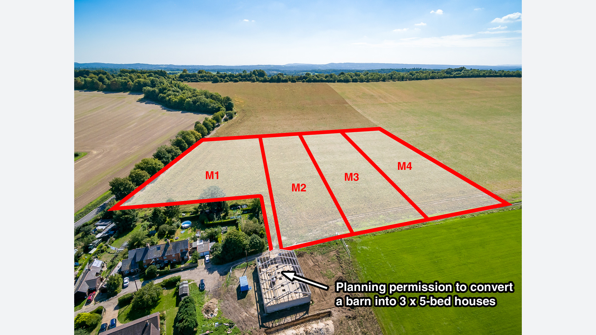 Land for sale at Manor Farm Cottages