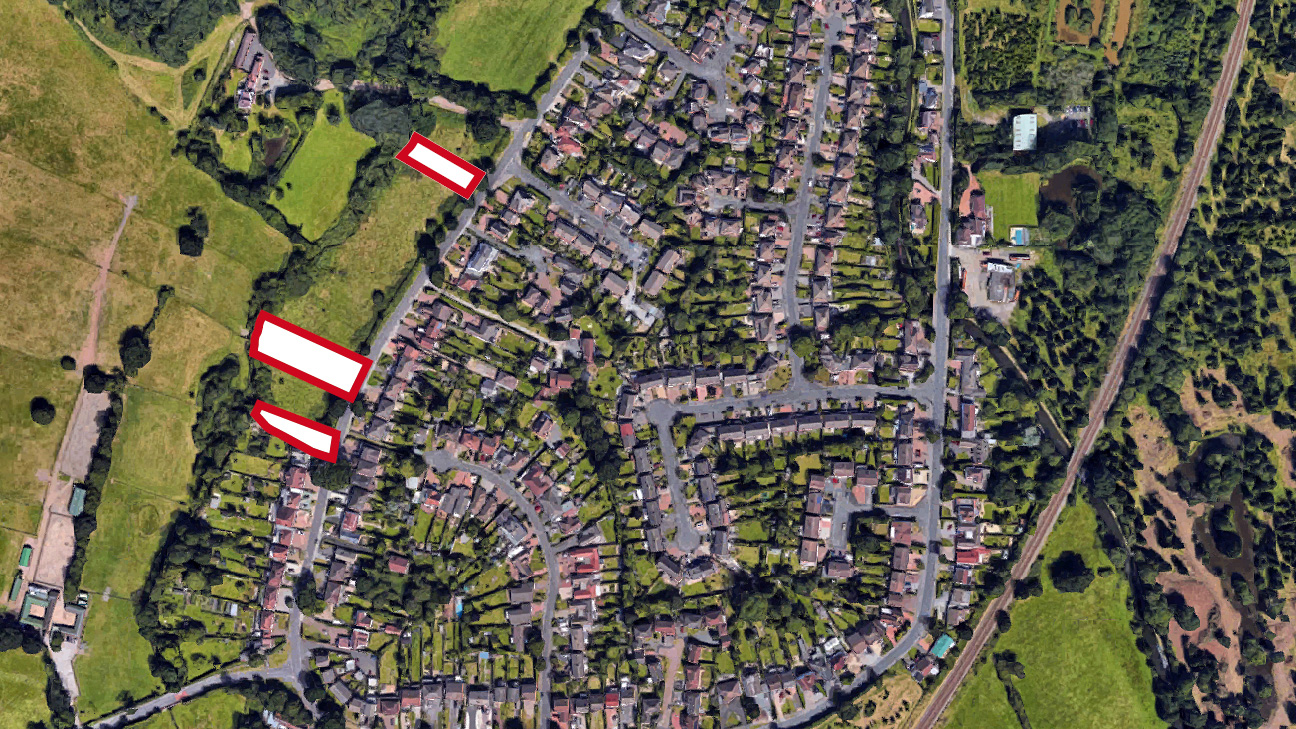 Land for sale on Peterbrook Road, Solihull