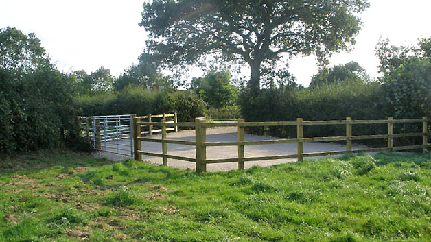 Land for sale in Shrewley access