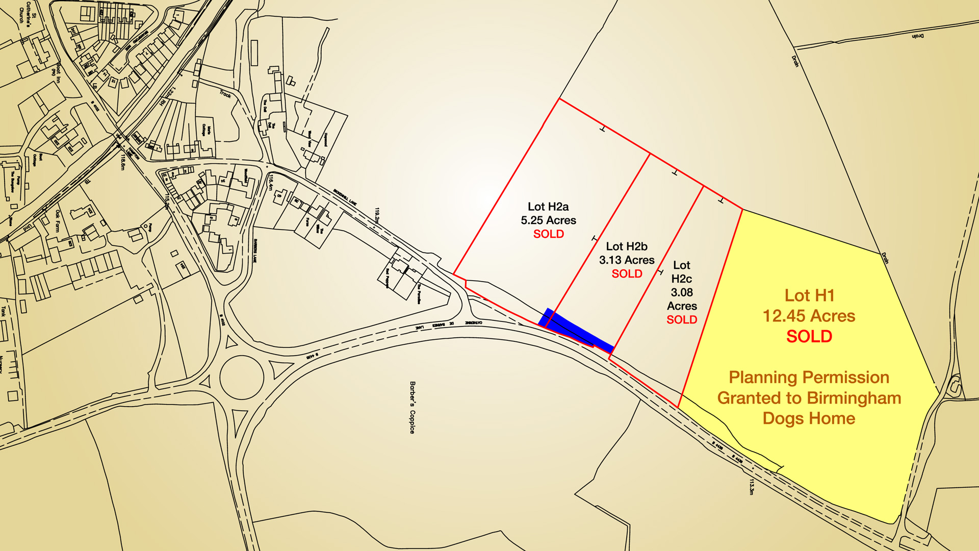 Land for sale in Solihull, Birmingham