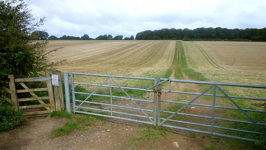 Land for sale in Stokenchurch access