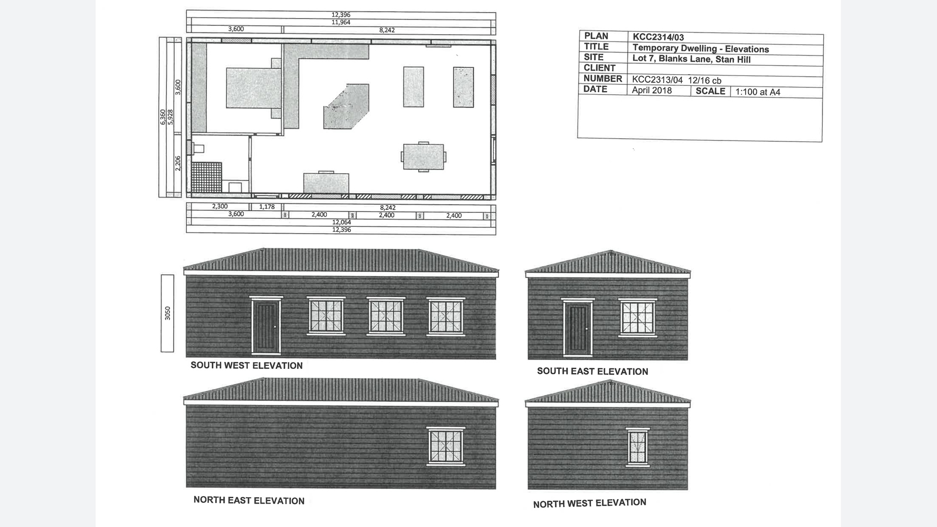 Land with planning permission for a temporary dwelling in Charlwood